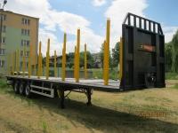 Полуприцеп для перевозки  древесины ZASLAW